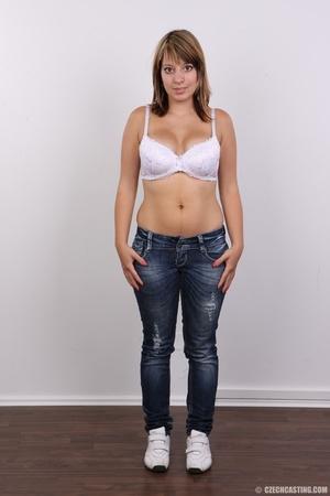 Sweet looking plump girl models big tits - XXX Dessert - Picture 3