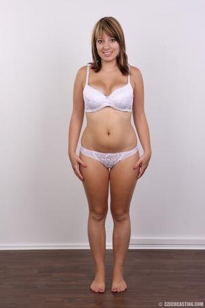 Sweet looking plump girl models big tits - XXX Dessert - Picture 5