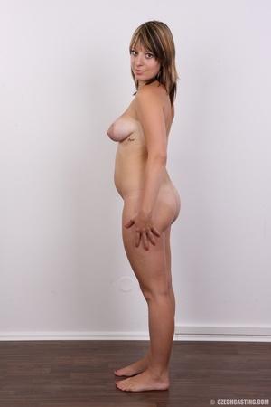 Sweet looking plump girl models big tits - XXX Dessert - Picture 16