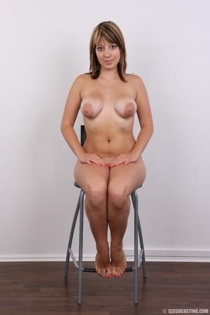 Sweet looking plump girl models big tits - XXX Dessert - Picture 19