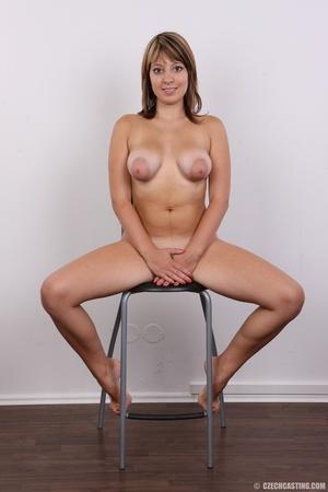 Sweet looking plump girl models big tits - XXX Dessert - Picture 20