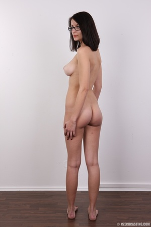 Innocent looking brunette with glass sho - XXX Dessert - Picture 18