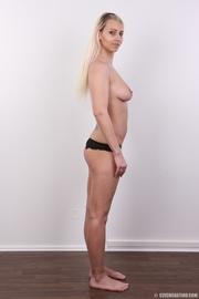 tattooed slim sexy blonde