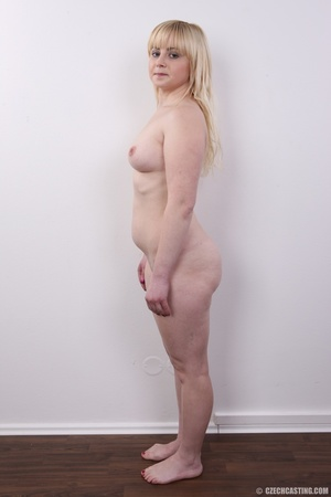 Pretty blonde with sexy chubby figure sh - XXX Dessert - Picture 15