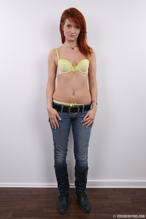 Fiery redhead with sexy body goes nude t - XXX Dessert - Picture 6