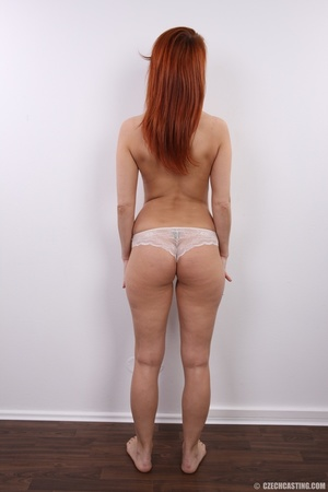 Fiery redhead with sexy body goes nude t - XXX Dessert - Picture 13