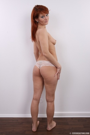 Fiery redhead with sexy body goes nude t - XXX Dessert - Picture 14