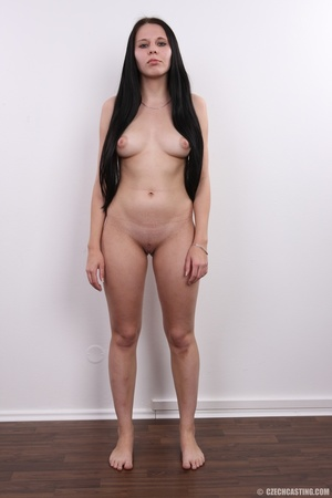 Horny chick with long hair strips to sho - XXX Dessert - Picture 9