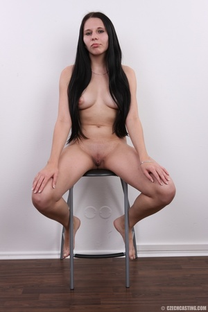 Horny chick with long hair strips to sho - XXX Dessert - Picture 12