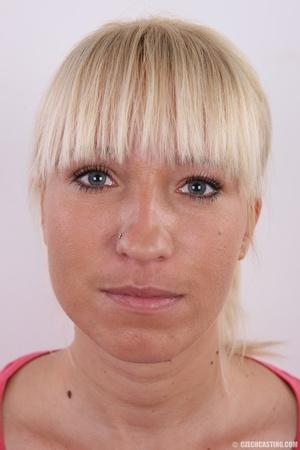 Blonde with seductive body showing big t - XXX Dessert - Picture 1