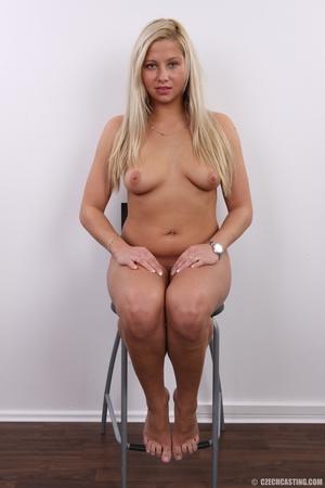 Fleshy tattooed blonde beauty shows slig - XXX Dessert - Picture 23