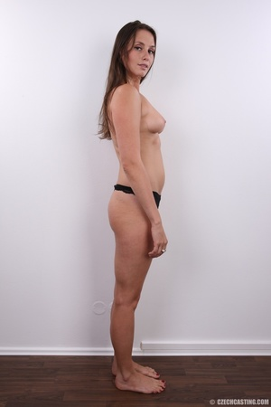 Hot bodied fleshy brunette with cute rou - XXX Dessert - Picture 10
