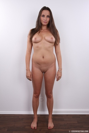 Hot bodied fleshy brunette with cute rou - XXX Dessert - Picture 15