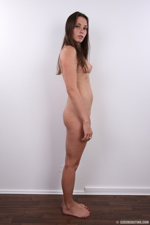 Hot bodied fleshy brunette with cute rou - XXX Dessert - Picture 16