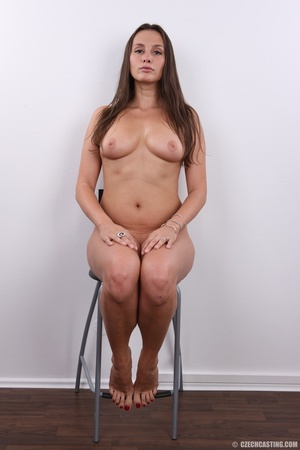 Hot bodied fleshy brunette with cute rou - XXX Dessert - Picture 18
