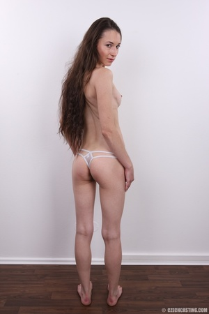 Slim brunette with very bushy pussy, hot - XXX Dessert - Picture 14