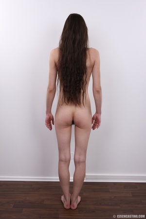 Slim brunette with very bushy pussy, hot - XXX Dessert - Picture 21