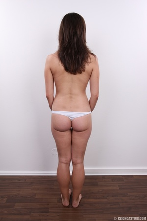 Brunette shows tight butt, soft cute tit - XXX Dessert - Picture 13
