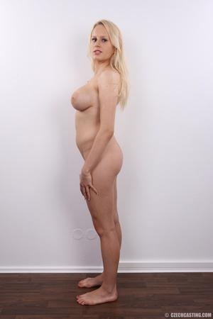 Erotic smiling blonde with super excitin - XXX Dessert - Picture 19
