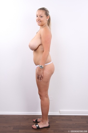Hot chubby blonde with super big tits, h - XXX Dessert - Picture 14