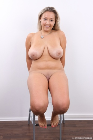 Hot chubby blonde with super big tits, h - XXX Dessert - Picture 17
