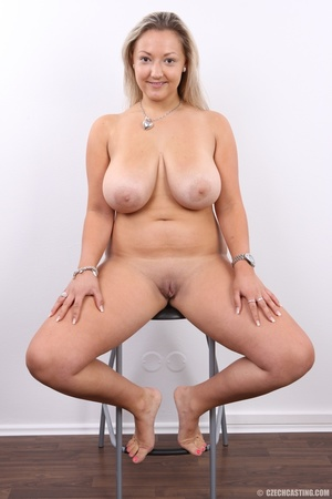 Hot chubby blonde with super big tits, h - XXX Dessert - Picture 18