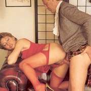Hairy seventies lady seduced by this - XXX Dessert - Picture 4