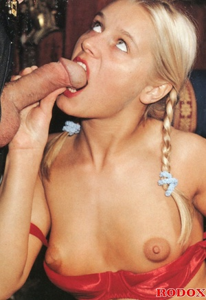 Very cute retro blonde banged by her hor - XXX Dessert - Picture 4