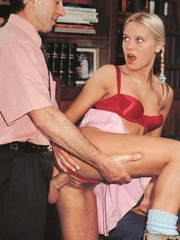 Very cute retro blonde banged by her - XXX Dessert - Picture 6