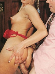 Very cute retro blonde banged by her - XXX Dessert - Picture 11