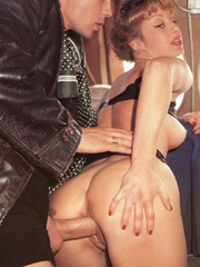 A retro flight attendant enjoys screwing - XXX Dessert - Picture 11