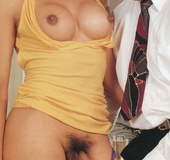 A willing retro shemale nailed hard in her tight…