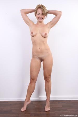 Cute sexy blonde with perfect round boob - XXX Dessert - Picture 12