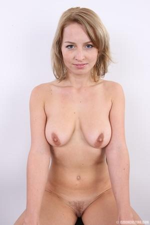 Cute sexy blonde with perfect round boob - XXX Dessert - Picture 17