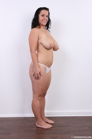 Chubby chick with cute smile shows her h - XXX Dessert - Picture 13