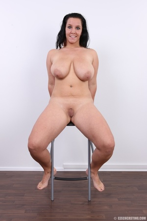 Chubby chick with cute smile shows her h - XXX Dessert - Picture 19