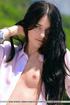 Black hair seductress shows off cute fleshy pussy,…