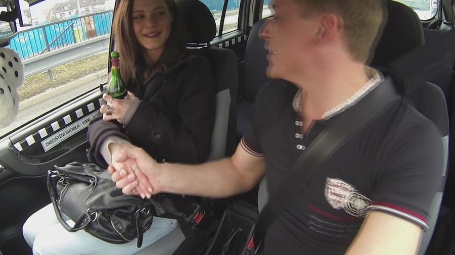 He Easily Seduces Cute Taxi Driver