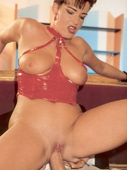 Horny retro sweetheart screwing her horny - XXX Dessert - Picture 7