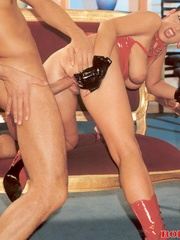 Horny retro sweetheart screwing her horny - XXX Dessert - Picture 10