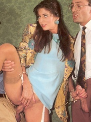 Very sexy secretary fucking her horny - XXX Dessert - Picture 5