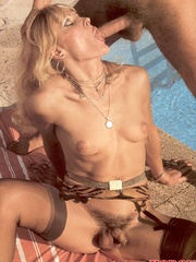 Horny guy loves banging a sexy shemale - XXX Dessert - Picture 11