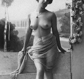 Pretty cute vintage topless girls posing in the&hellip;