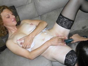 Young cute slut gets together with hot matured chick for fucking with big dildo - XXXonXXX - Pic 11