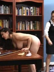 This randy brunette gets her juicy ass spanked in - XXXonXXX - Pic 6