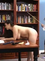This randy brunette gets her juicy ass spanked in - XXXonXXX - Pic 13