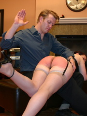Saucy redhead bending over him and gets her - XXXonXXX - Pic 3