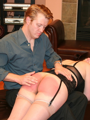 Saucy redhead bending over him and gets her gorgeous ass spanked. - XXXonXXX - Pic 6