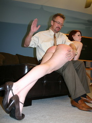 This horny redhead beauty gets her big ass spanked - XXXonXXX - Pic 2