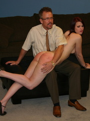 This horny redhead beauty gets her big ass spanked - XXXonXXX - Pic 4